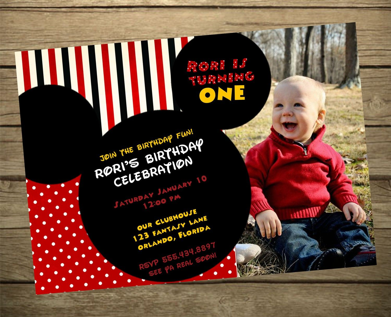 Invitation Wording For Mickey Mouse Party. Mickey Mouse Clubhouse Birthday Party Invitation Wording