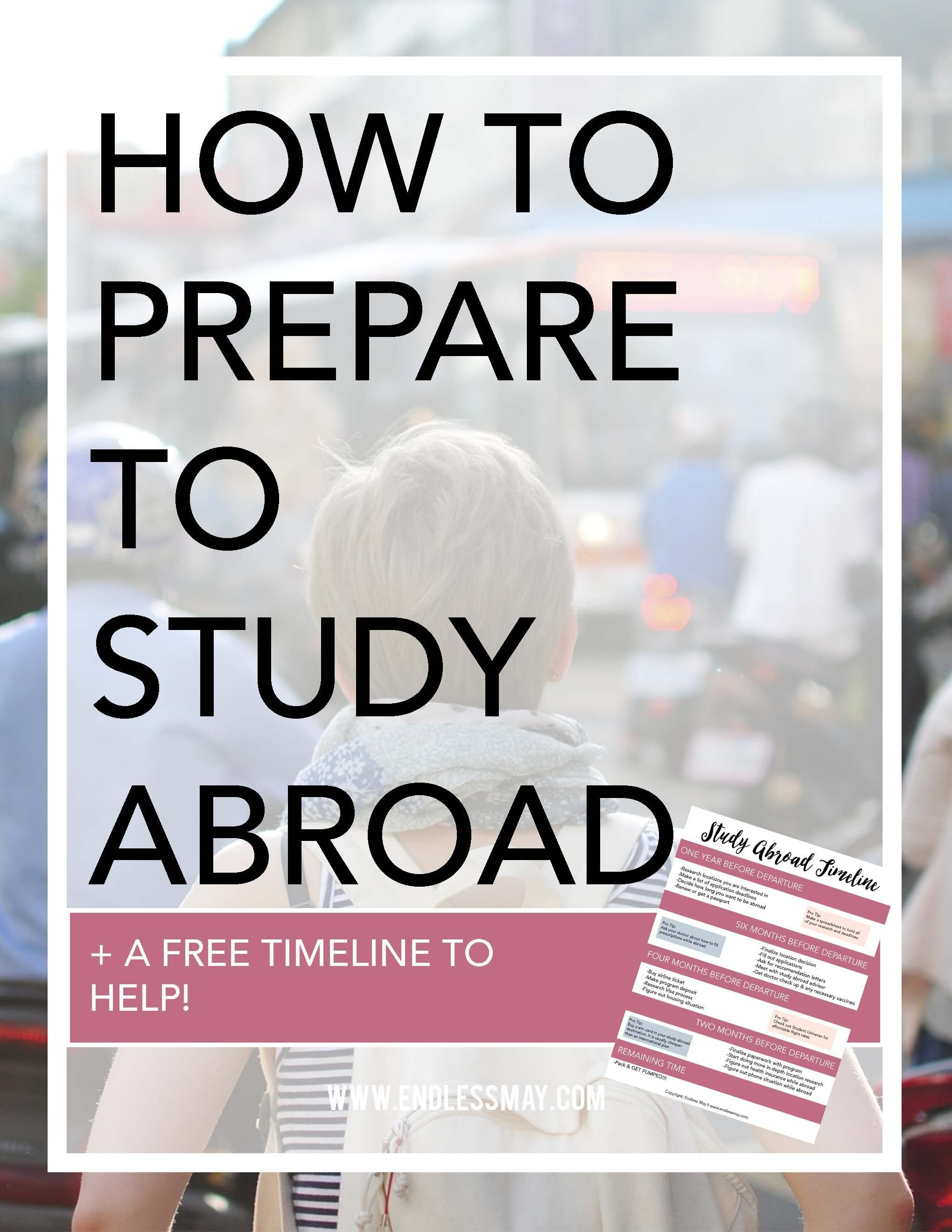 How To Prepare To Study Abroad Study Abroad Study Abroad