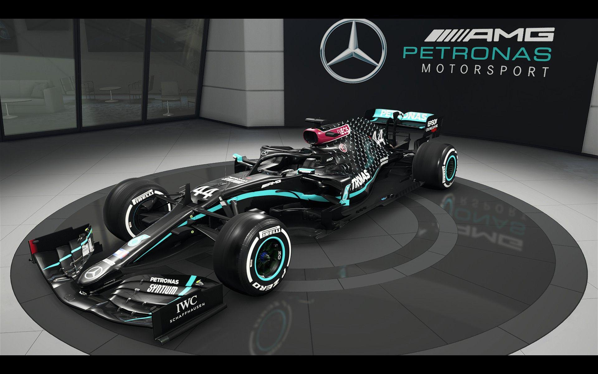 2019 Vs 2020 Mercedes F1 Livery 2020 [ 1200 x 1920 Pixel ]