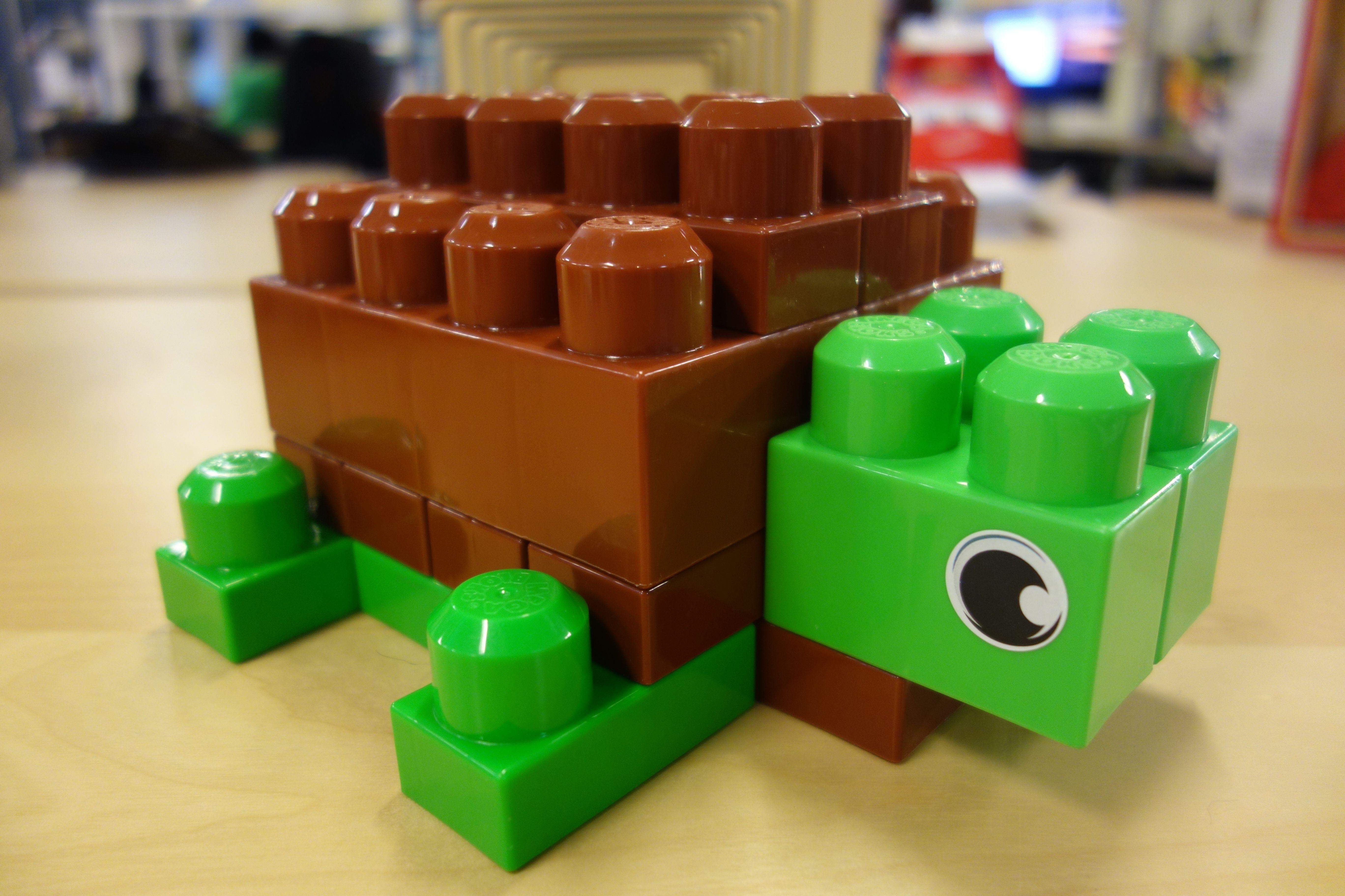 Turtle build SeeItBuildIt Lego bouwvoorbeelden