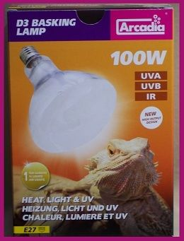 100 Watt Arcadia Mercury Vapor D3 Bulb 240 Volt Bulb Mercury The 100