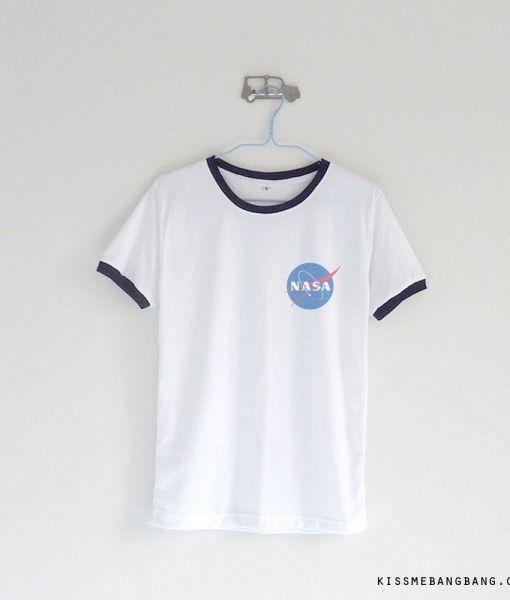 Nasa Logo Ringer T-shirt