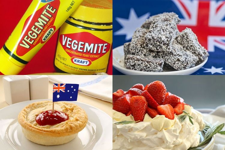 Aussie food favourites vegemite lamingtons the meat for Austalian cuisine