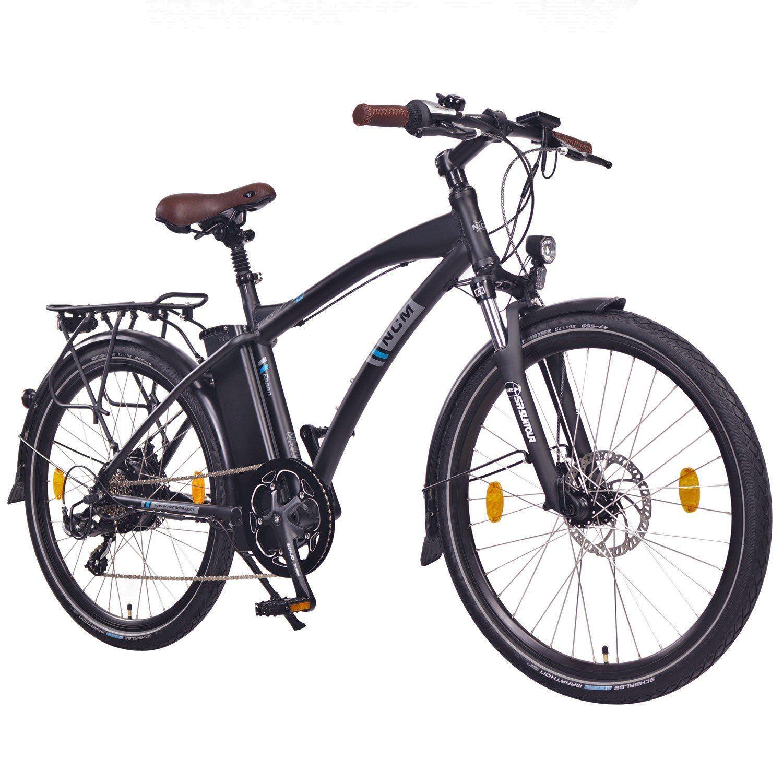 Bater/ía 36V 13Ah 468Wh 250W NCM Hamburg Bicicleta el/éctrica Urbana