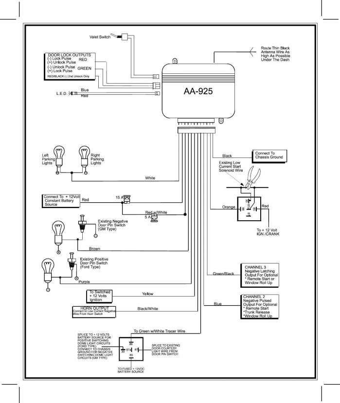 16 prestige car alarm wiring diagram  alarmas para autos