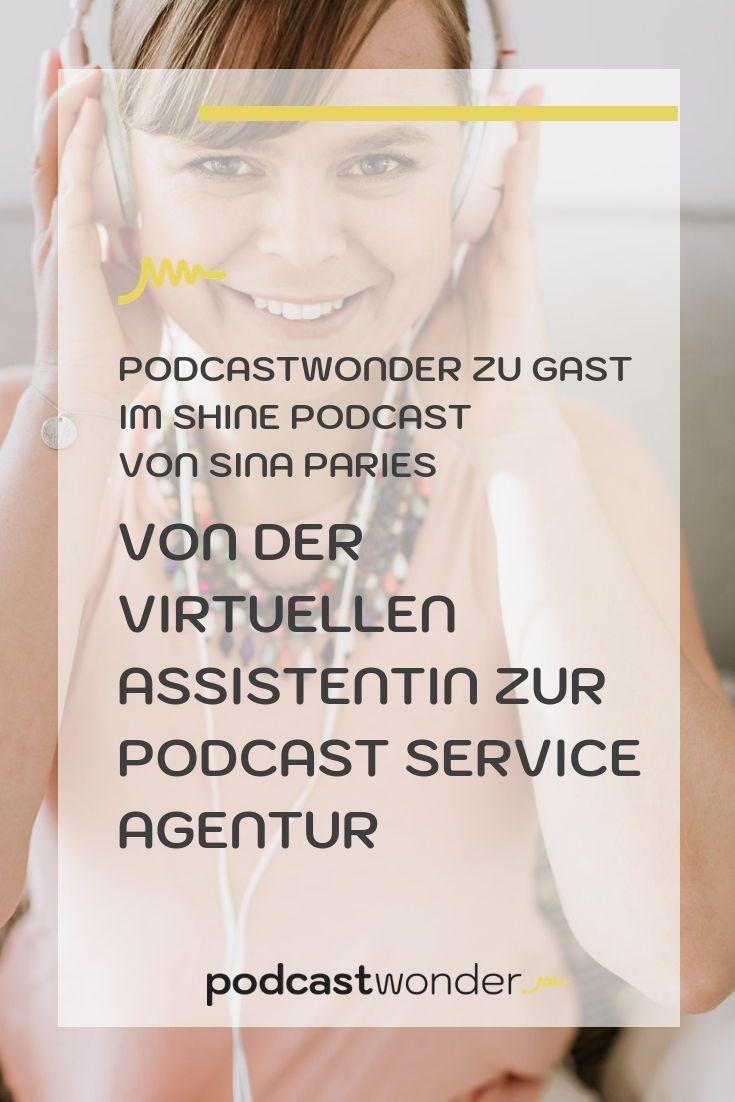 Ich war im Shine Podcast von der fantastischen Sina Paries