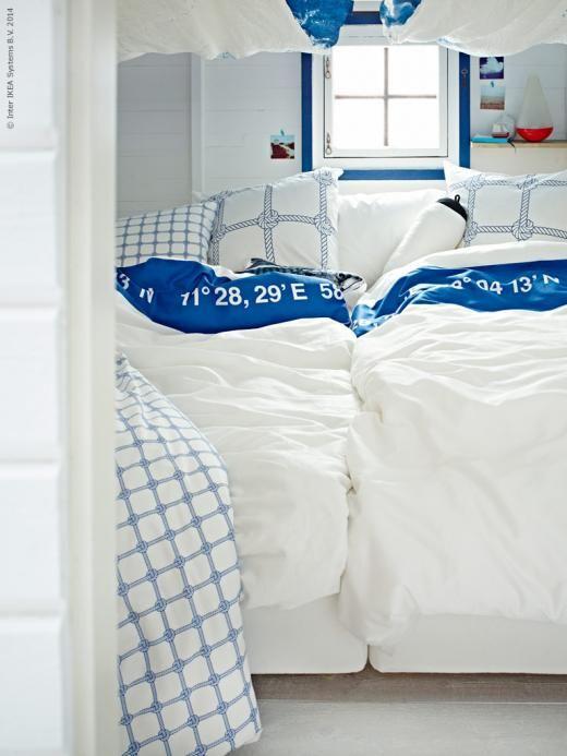 Inspiration from ikea beach cottage love pinterest for Decoracion marinera ikea
