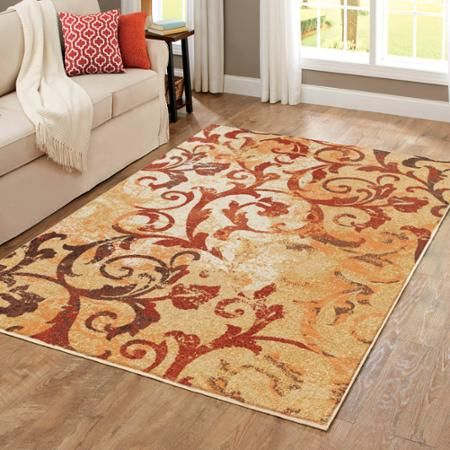Beau Better Homes And Gardens Scrollwork Area Rug