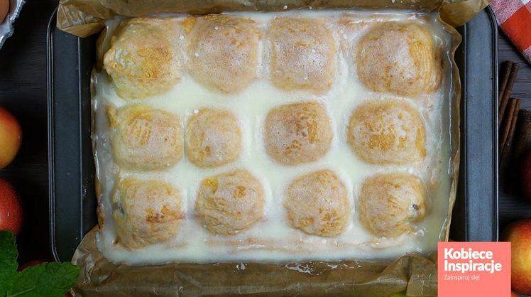 Szarlotka Z Polowkami Jablek Pyszna I Szybka Recipe Food Bread