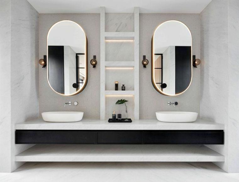 Muebles De Bano Modernos Cuales Son Las Tendencias Del 2017 Badezimmerspiegel Moderne Badezimmermobel Badezimmer