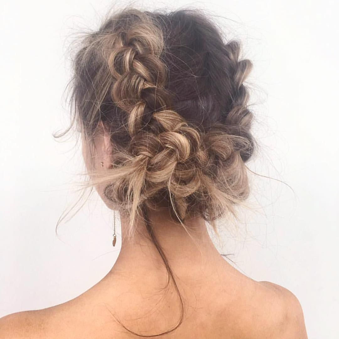 Pinterest Sarahesilvester Dutch Braid Hairstyles Braided Hairstyles Long Hair Styles