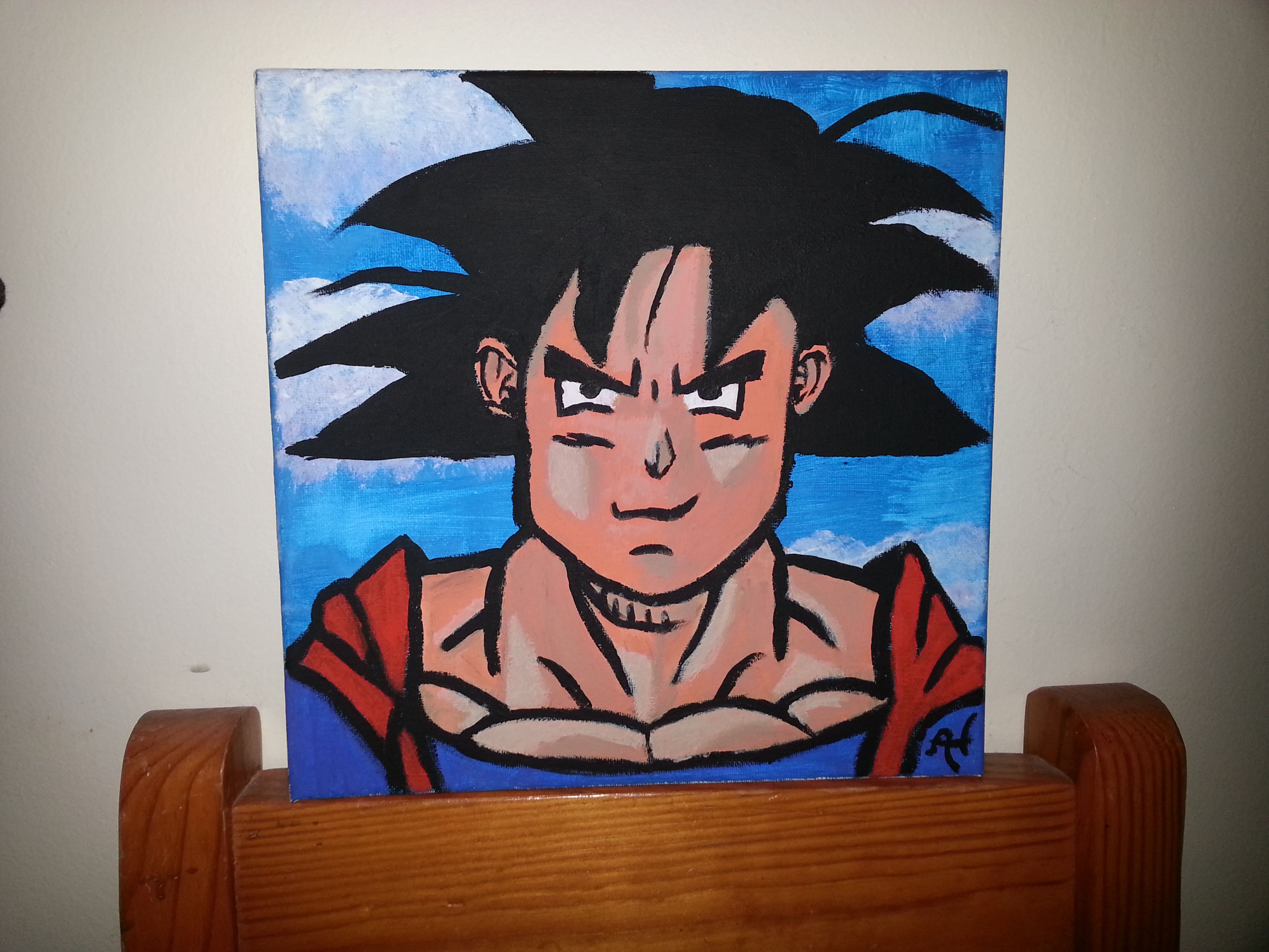 """acrylic """"Goku"""""""