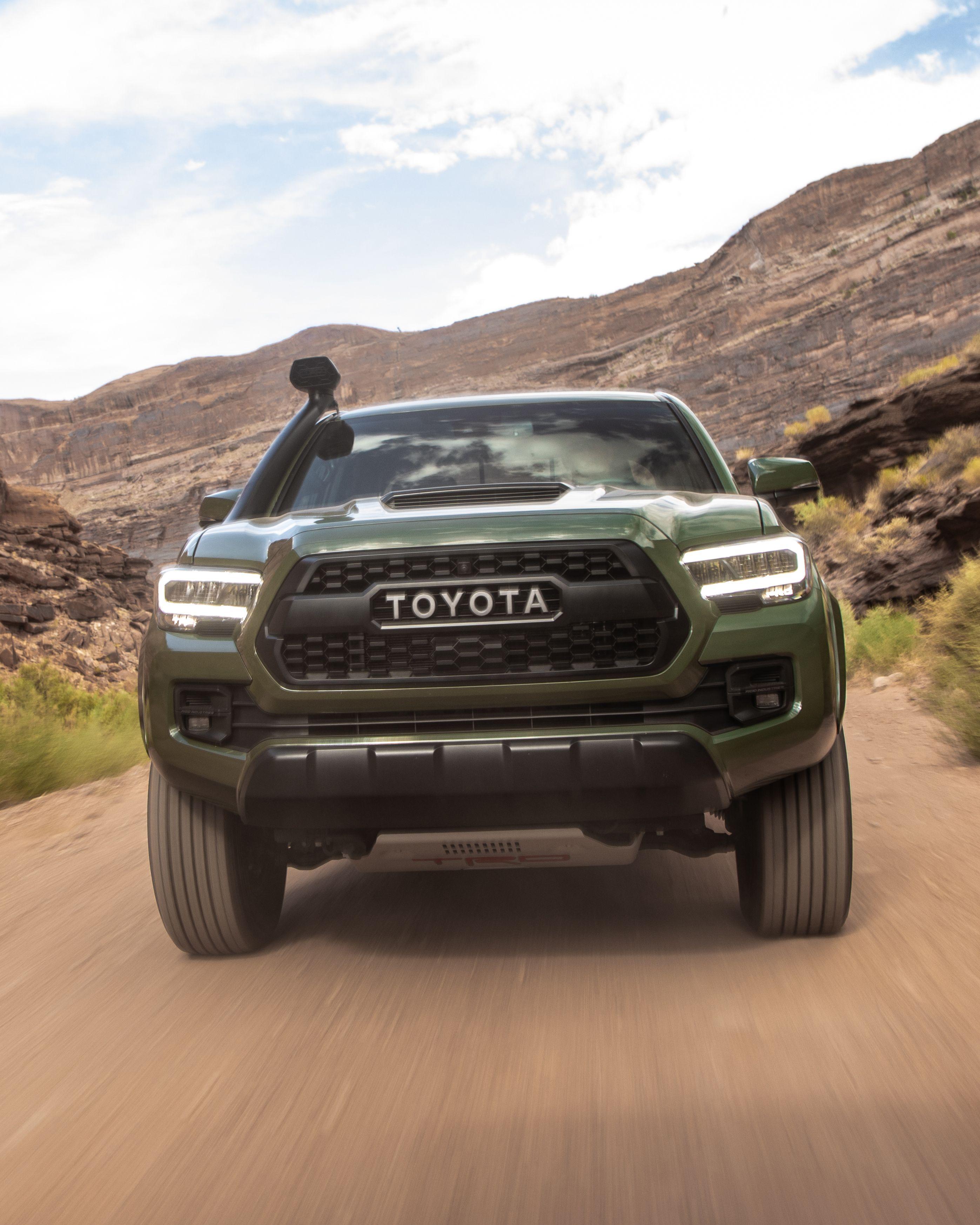 The 2020 Toyota Tacoma Trd Pro Goes Where Few Trucks Can Toyota Tacoma Trd Pro Tacoma Trd Toyota Tacoma Trd