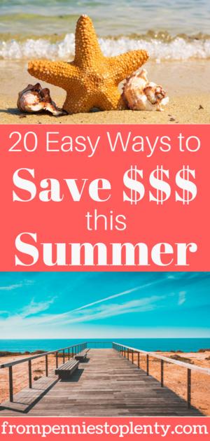 20 einfache Möglichkeiten, diesen Sommer Geld zu sparen   – FP2P – Frugal Living