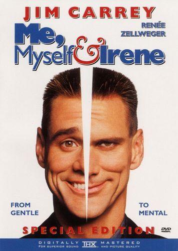 Best Buy Me Myself And Irene Dvd 2000 Jim Carrey Movies Jim Carrey Comedy Movies