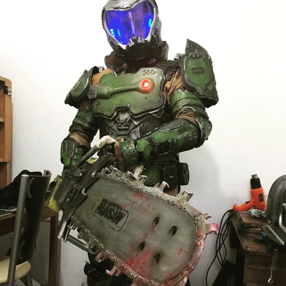 doom slayer cosplay for sale