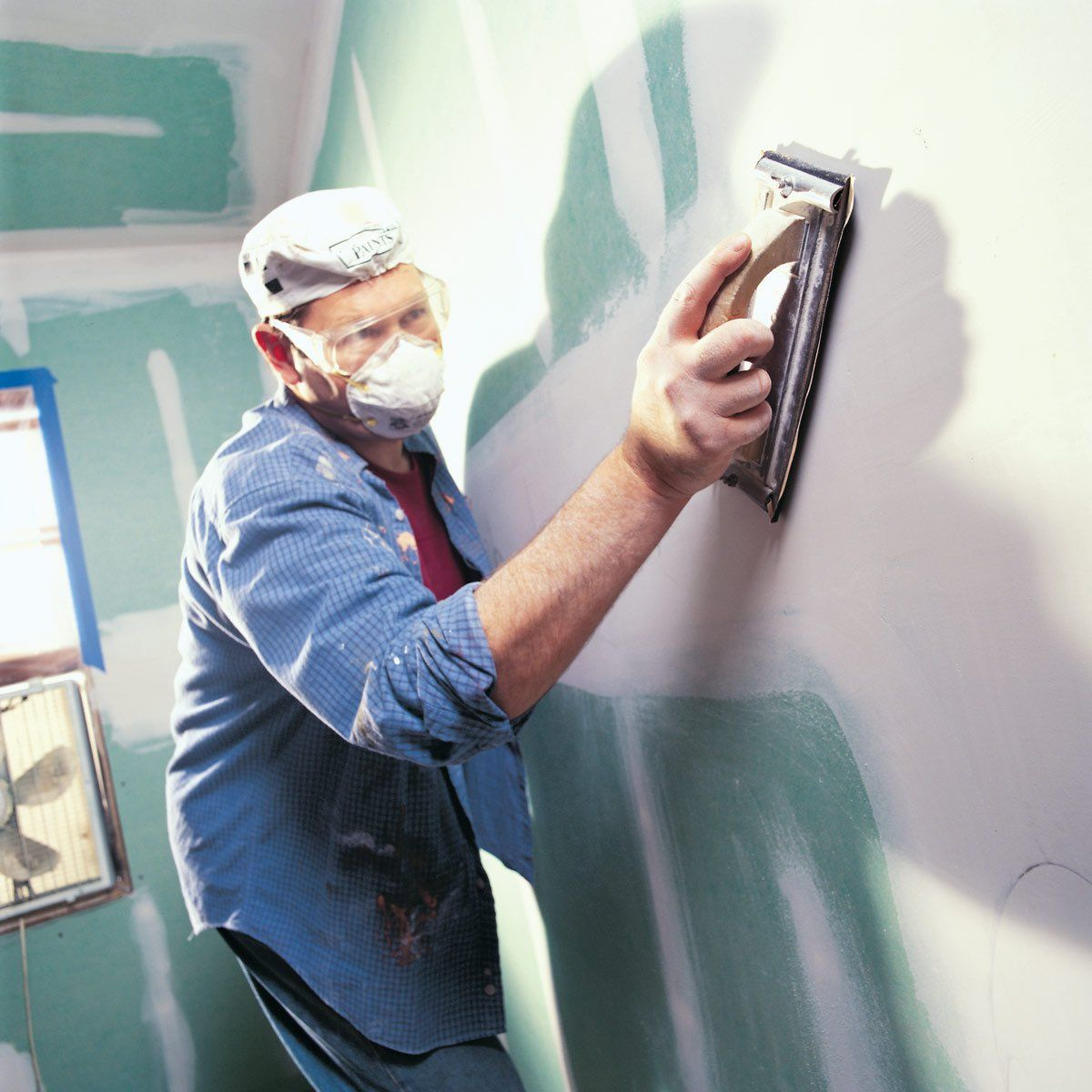 How To Sand Drywall Home Improvement Home Improvement Projects Home Repair