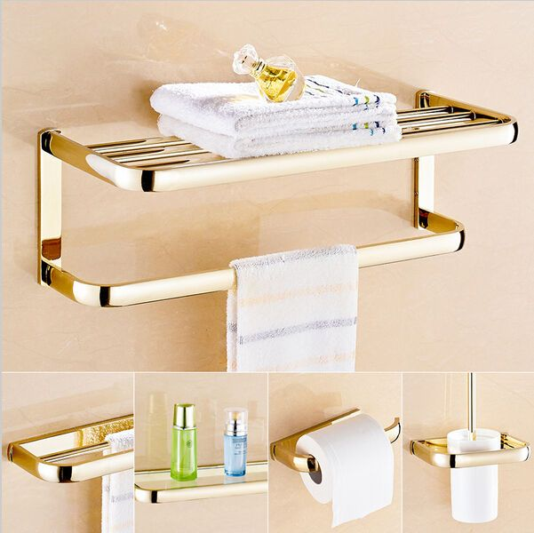 #Modern Bathroom Hardware Set Bath Accessories #towel Bar Rack Toilet  #paper Hold, View More On The LINK:  Http://www.zeppy.io/product/gb/2/262752147276/