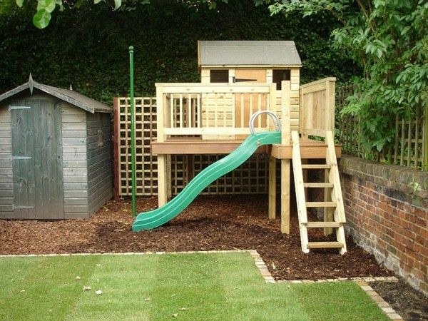 playhouse with slide fantastic playhouses in the garden for the