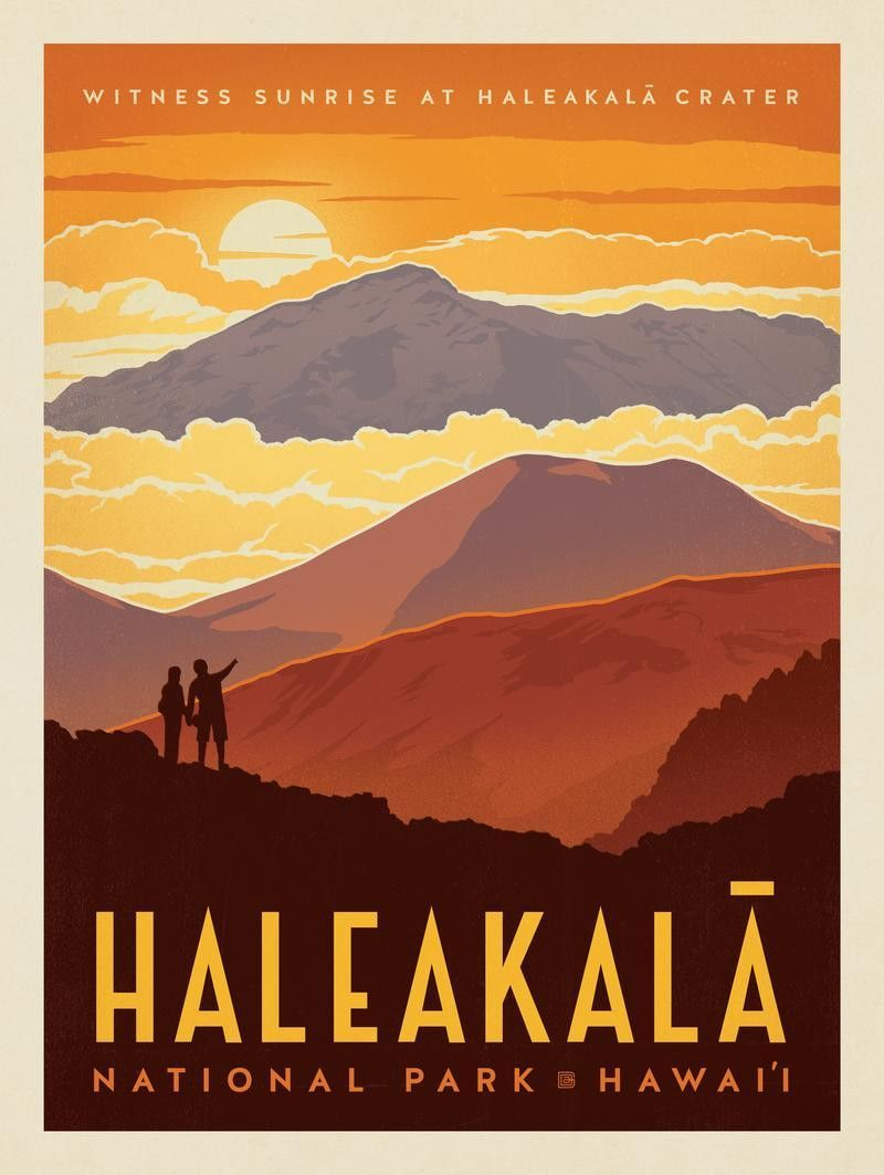 Maui-Hawaii | tRAveL pOsTErs in 2019 | National park