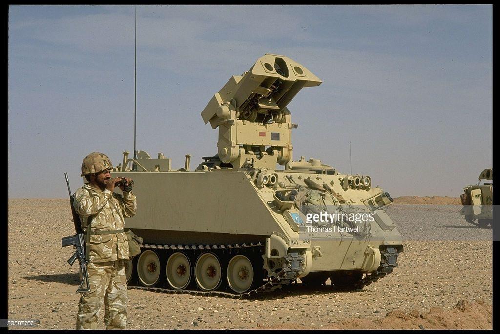 Kuwaiti Soldiers Training W Us Led Gulf Crisis Multi Natl Force
