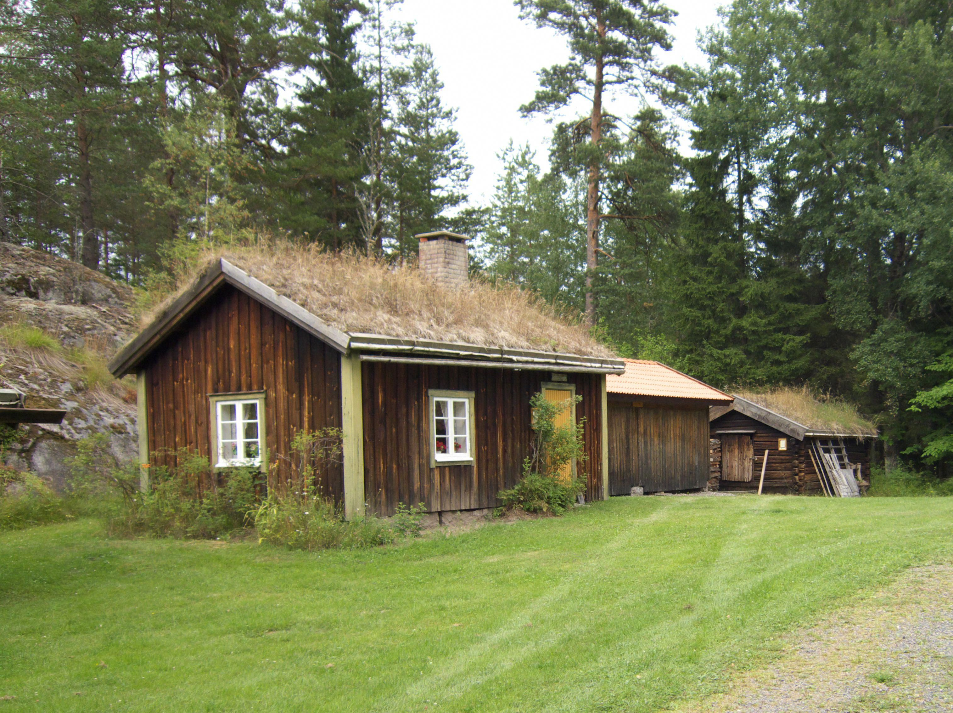 Green Roofs and Great Savings Swedish house, Green roof
