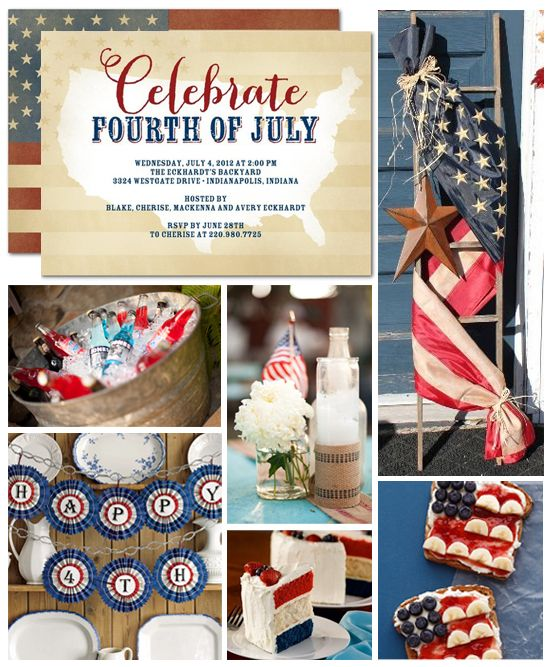 Chaos & Gloss: Fourth of July Decorations