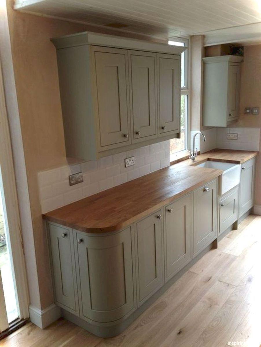 023 Gorgeous Cottage Kitchen Small Cabin Ideas Green Kitchen Cabinets Sage Kitchen Sage Green Kitchen