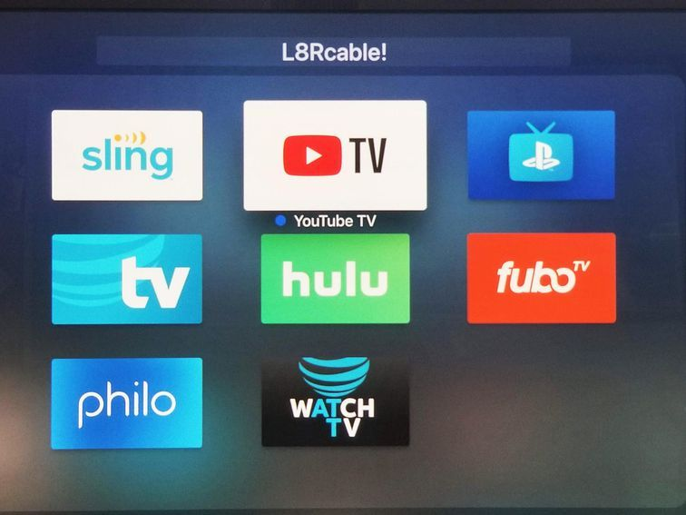 All The Live Tv Streaming Services Compared Which Has The Best Channel Lineup Streaming Tv Live Tv Streaming Sling Tv