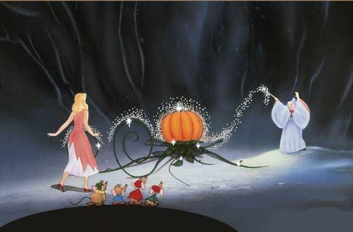 Cinderella Cinderella Pumpkin Walt Disney Signature Walt Disney