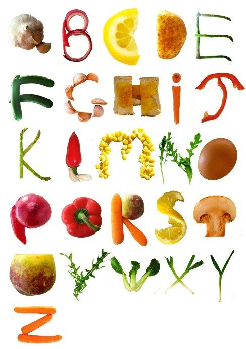 food typography foods typography and fonts