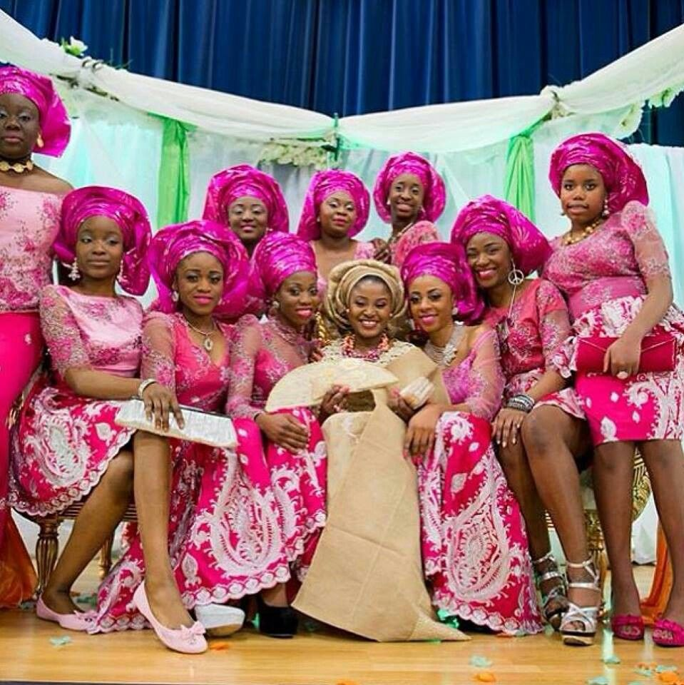 african wedding #nigerian wedding attire - matching outfits? Stand ...