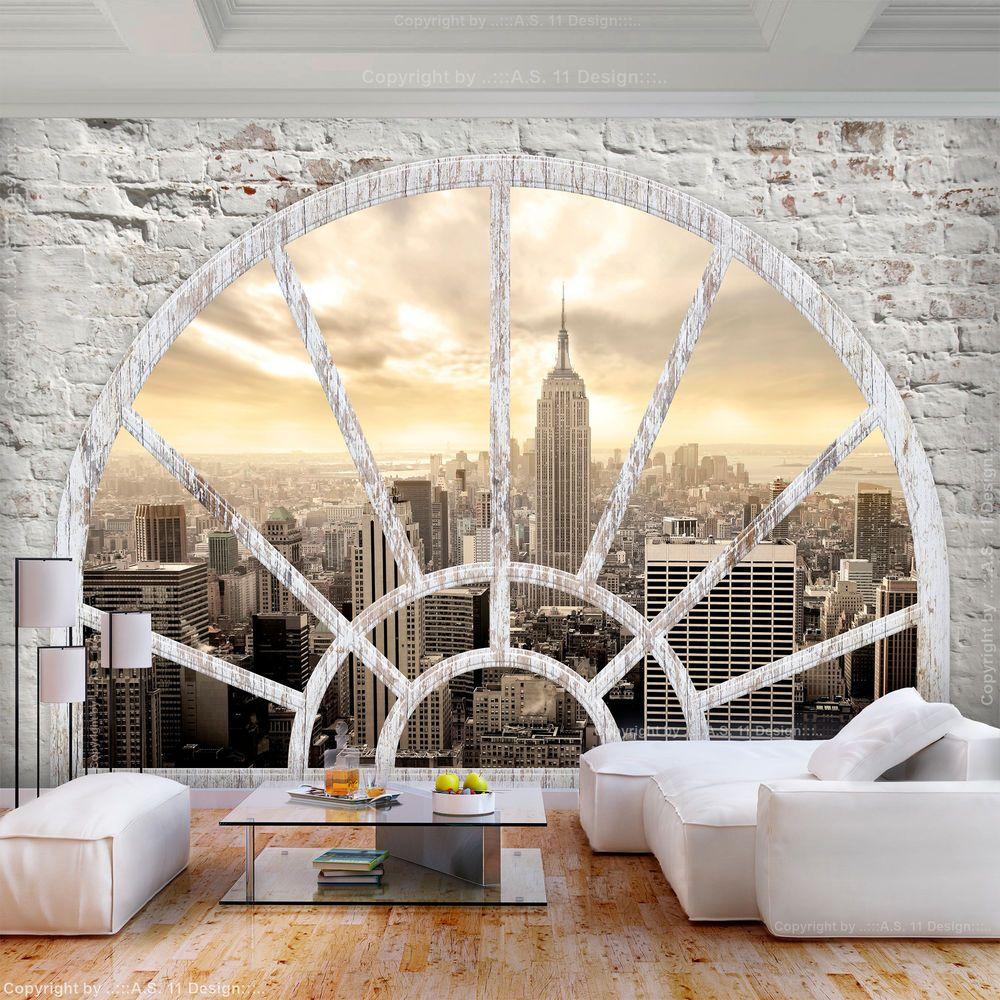 Vlies Fototapete Steinwand New York 3d Effekt Tapete Wandbilder Xxl Wohnzimmer 3 Ebay Fototapete Steinwand Fototapete 3d Tapeten Schlafzimmer