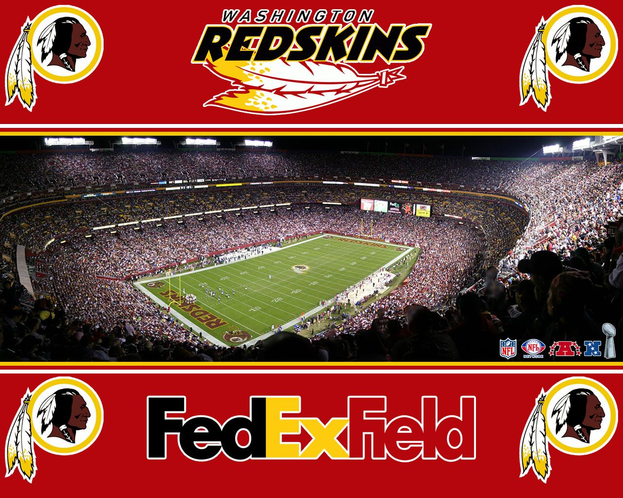 Saw from Interstate driving by --Washington Redskins--FedExField May ...