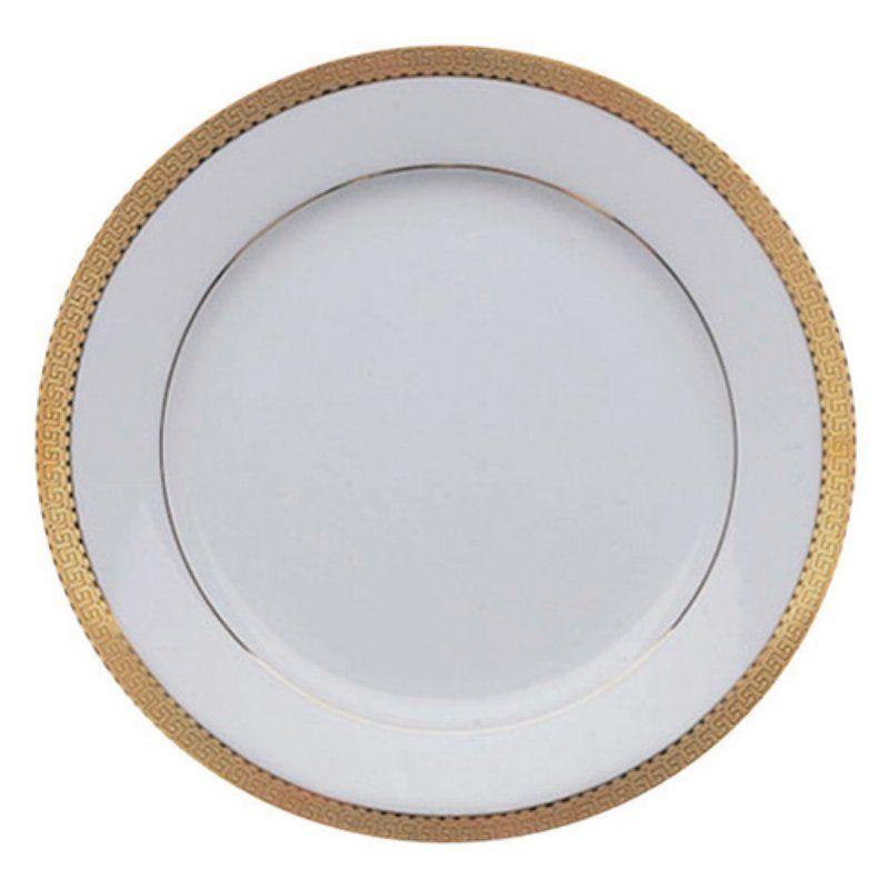 10 Strawberry Street Luxor Salad Dessert Plates Set Of 6 Gold Lux 4g 6 10 Strawberry Street Dinner Plate Sets Plate Sets