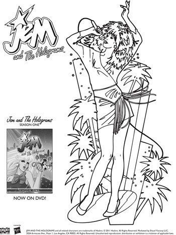 coloring jem and the holograms coloring pages aka jerrica b with feliz cumpleanos coloring pages images jem and the holograms coloring pages jem aka jerrica - Feliz Cumpleanos Coloring Pages