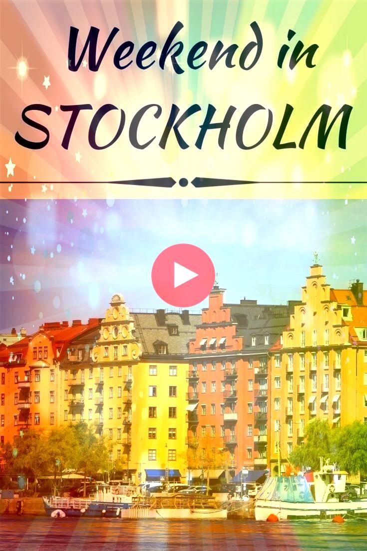 a seriously romantic weekend itinerary to combine relaxation and sightseeing in Swedens capital c A a seriously romantic weekend itinerary to combine relaxation and sight...
