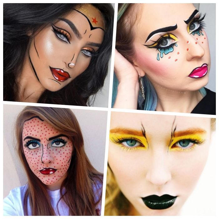 Halloween Make Up Selber Schminken