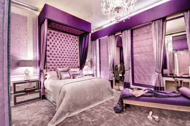 Victorian Bedroom Colors adorable purple victorian napa | other pictures of romantic purple