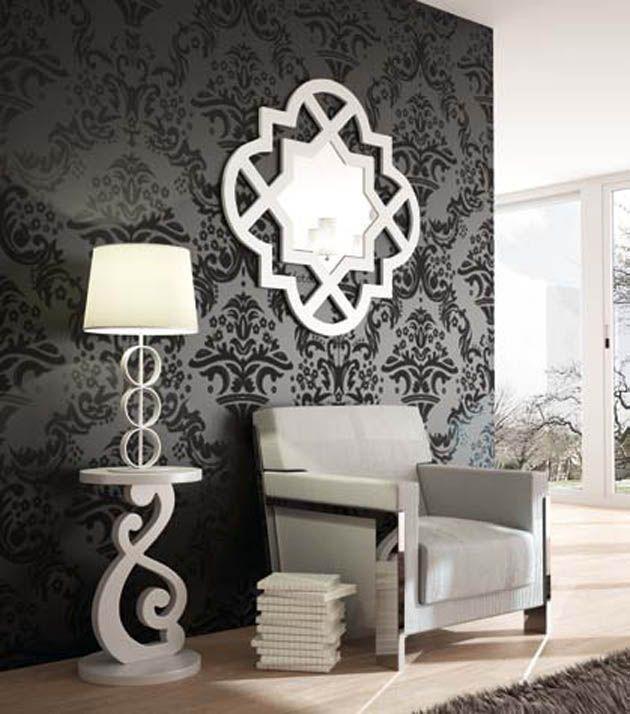 Design Spiegel YASMIN Dekoration Beltran, Ihr Online-Shop für - deko wandspiegel wohnzimmer
