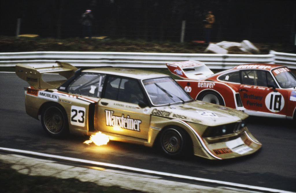 Albrecht KrebsGerd Reiss, BMW 320 Turbo @Brands_Hatch 6 Hours, 1980