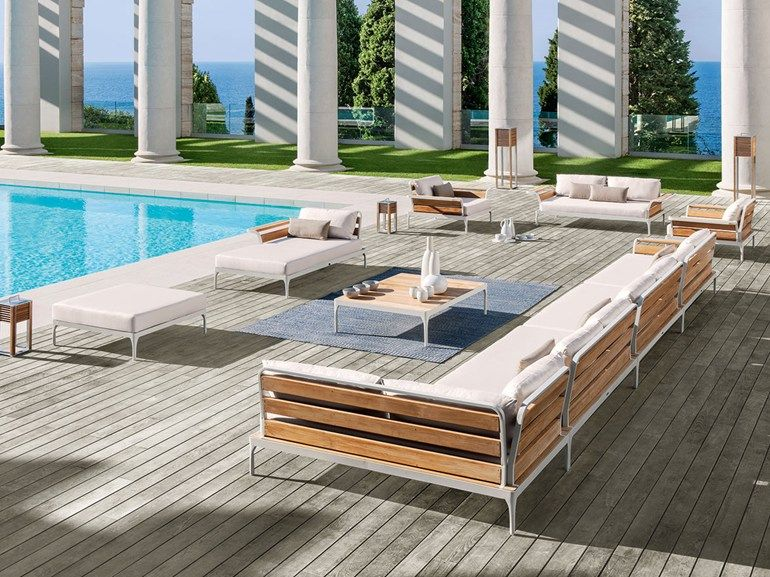 MERIDIEN | Sectional sofa Sectional fabric garden sofa Manufacturer Ethimo Meridien Collectio