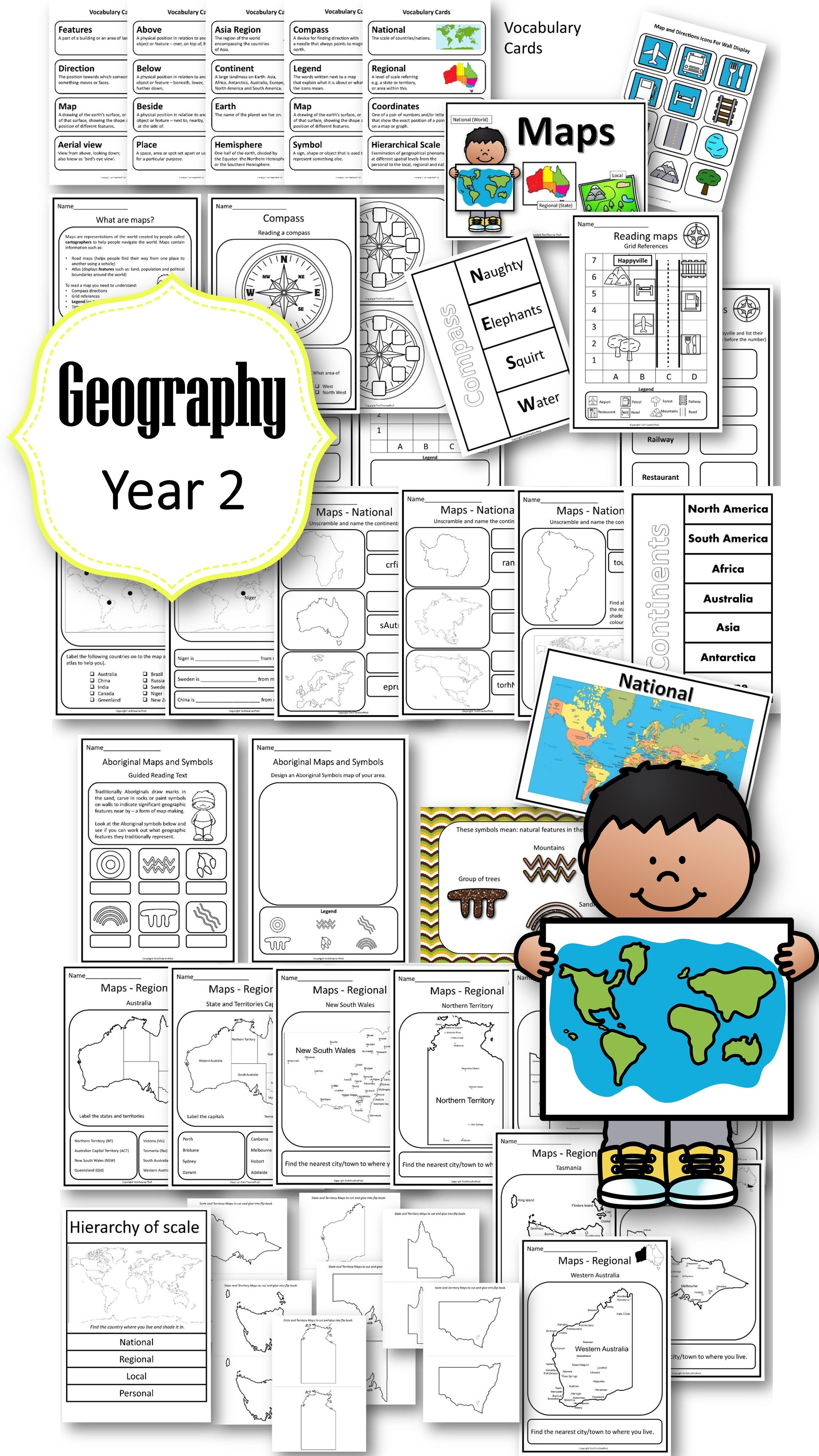 Pin On Teaching Geography Primary Hass