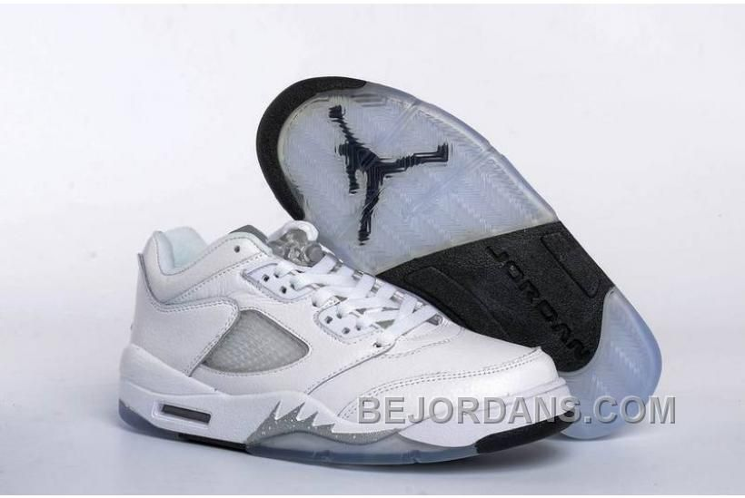 quality design b67dd deae9 Buy 2017 Girls Air Jordan 5 Low White Black-Wolf Grey For Sale Discount  from Reliable 2017 Girls Air Jordan 5 Low White Black-Wolf Grey For Sale  Discount ...