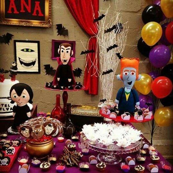Spooky Hotel Transylvania Birthday Party Ideas Cumpleanos Hotel