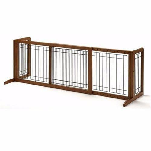 Free Standing Wooden Indoor Pet Gate Low Height Freestanding Pet Gate Pet Gate Freestanding Dog Gate