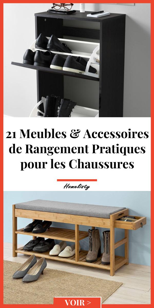 21 Meubles Accessoires De Rangement Pour Les Chaussures En 2020 Rangement Mobilier De Salon Etagere Pliable