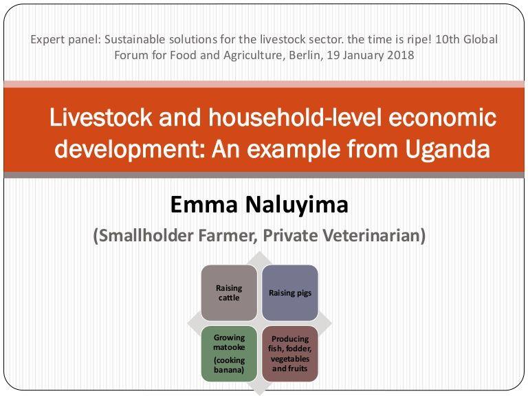 Emma Naluyima Ugandan Vet Pig Farmer Jan 2018 Gffa Berlin