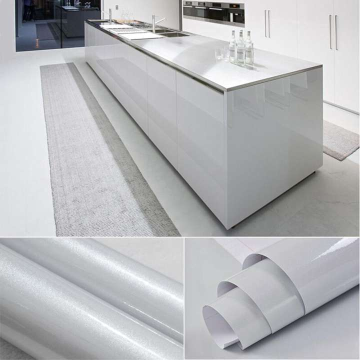 Veelike Kitchen Cabinet Liner Adhesive Contact Paper For Cabinet