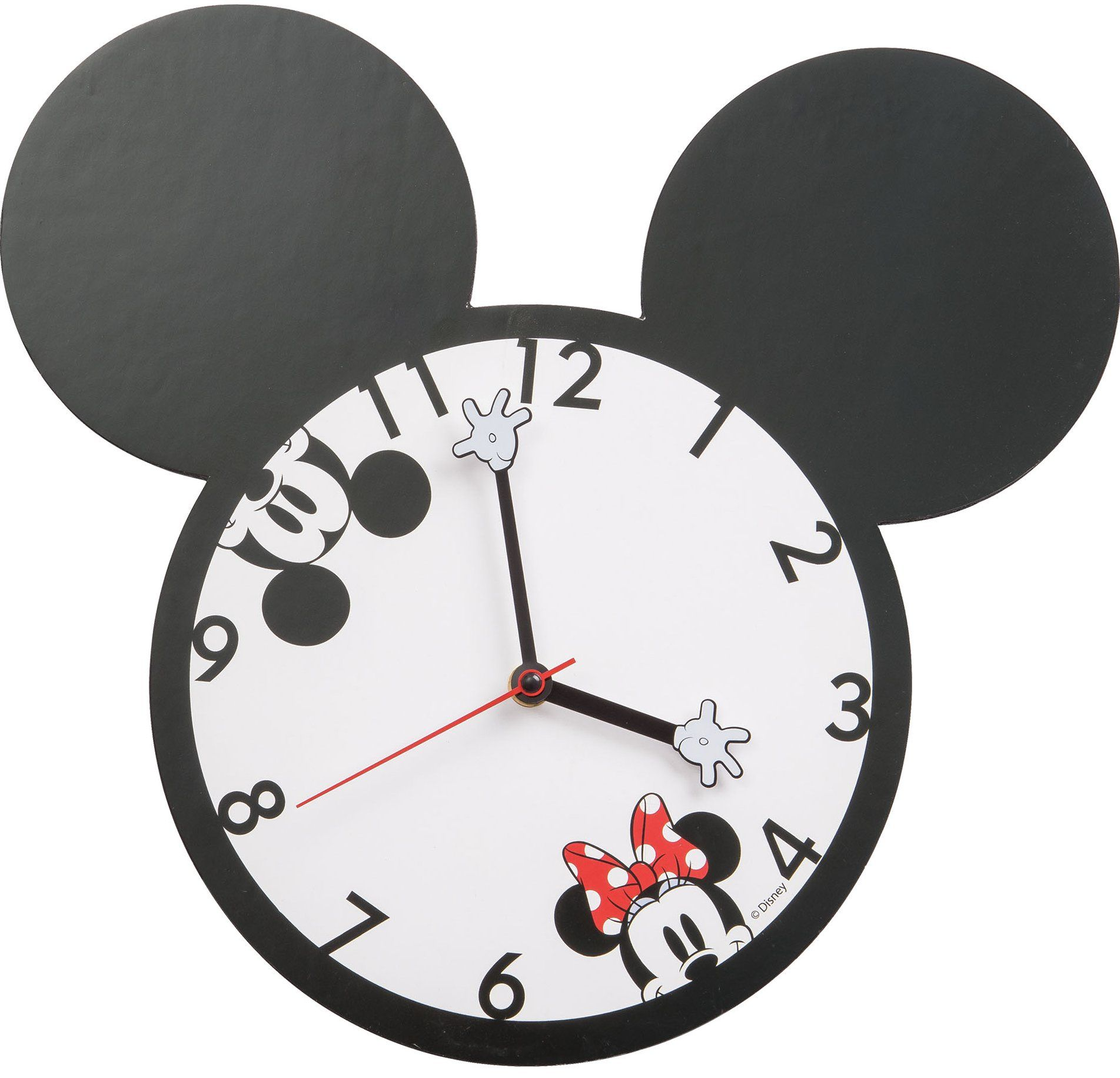 Disney Mickey And Minnie Mouse Wall Clock Mickey Mouse Clock